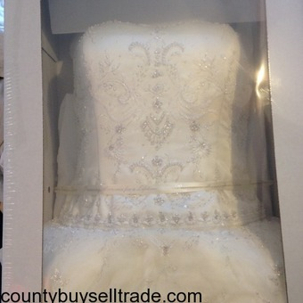 Wedding Dress Mint Condition (David's Bridal)